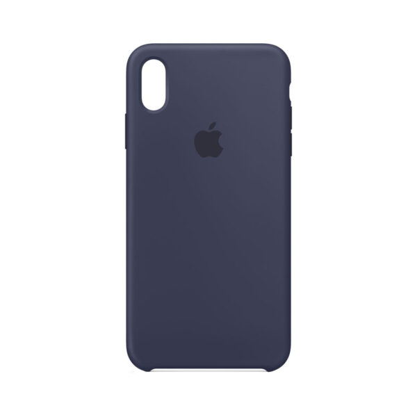 IPhone Silicone Case Midnight Blue (XS Max)