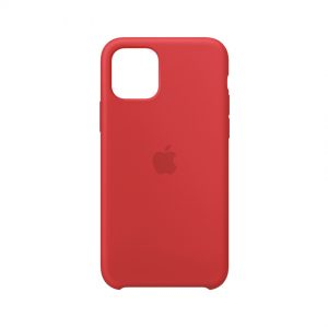IPhone Silicone Case Red (11, 11 Pro, 11 Pro Max)